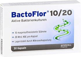 BactoFlor für die Darmflora