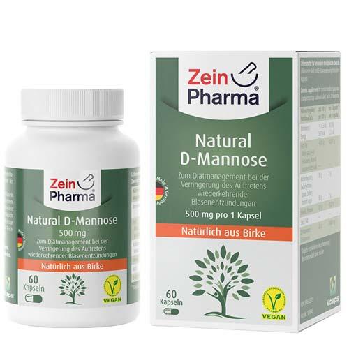 ZeinPharma Natural D-Mannose Kapseln